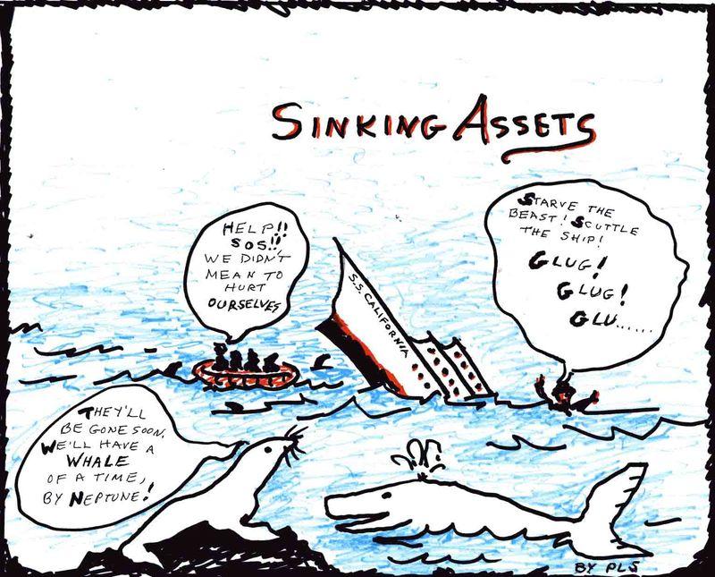 Sinking Assets