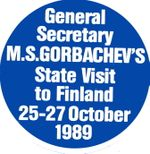 Gorbachev's Visit to Finland 25-27 October 1989