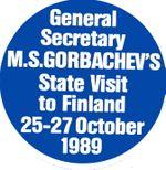Gorbachev's Visit to Finland 25-27 October 1989