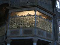 Turkey - Istanbul - Aya Sofia Sultan's Loge 9-27-06