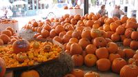 New Orleans, French Market, pumpkin stall 10-14-10 by PHkushlisIMG_1375