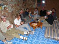 Linda Bigelow Morroco Trek 10-2010 Tasselnt Hostel - dark, dreary and no running water