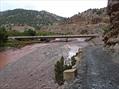 Linda Bigelow Morocco Trek 10-2010 Long, modern bridge spans the Tessaout.
