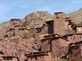Linda Bigelow - Morocco Trek 10-2010 Megdaz houses built into hill