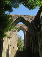 Photo 13 Glastonbury Ruin 2 Somerset Trip Part 1 summer 2011