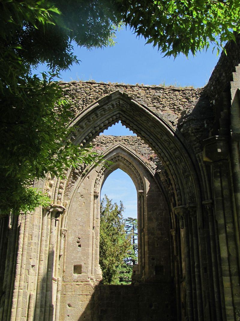Photo 13 Glastonbury Ruin 2 Somerset Trip Part 1 summer 2011