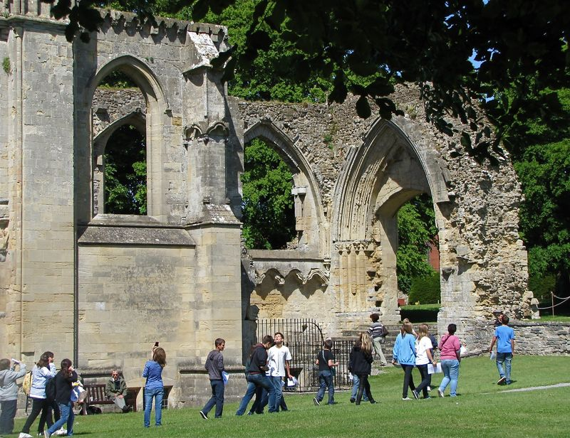 Visitors-1 Somerset Trip summer 2011