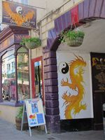 Photo 17 Glastonbury store Ying-Yang Somerset Trip Part 1 summer 2011