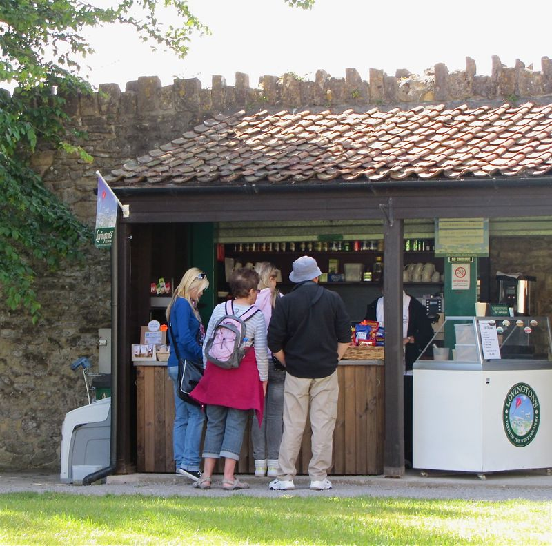 Photo 44 Glastonbury Tea Shack Somerset Trip Part 1 summer 2011