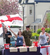 #12 St George's Day Flag and Charity Booth John Dyer 2011