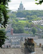 Lancaster - View of City and Domed Building from Hill John Dyer 2010