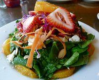 Crepeville Davis L Street Salad