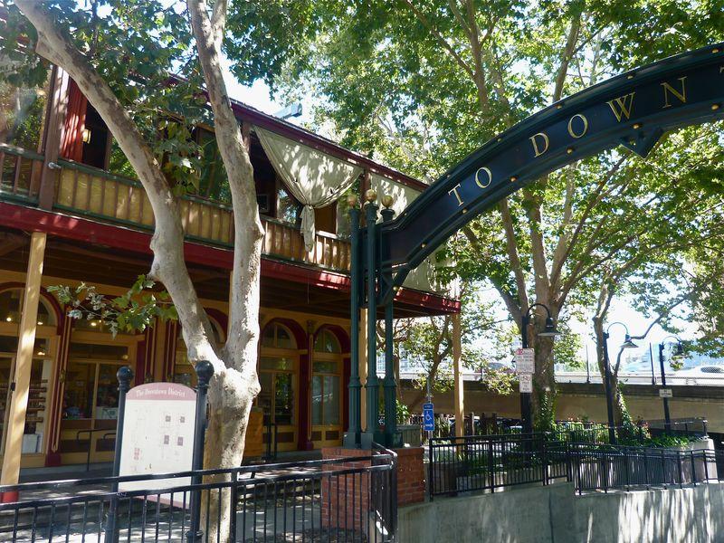 Old Sacramento Exit