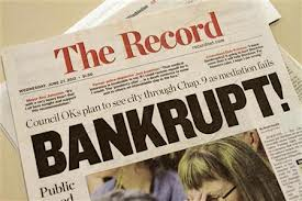 Bankrupt headline - reuters