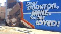 Dear stockton mural