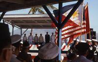 Philippines - Subic Ceremony 92
