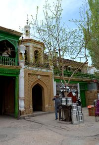 Kashgar little mosque