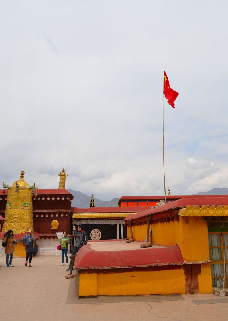 Jokhang red flag