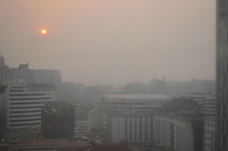 Beijing dusk