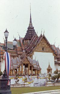 Bangkok - Temple Complex 1974