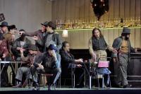 Bored Miners and Rance at the Polka Santa Fe Opera 2016