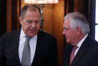 Tillerson-Lavrov Moscow April 2017 RFE-RL photo