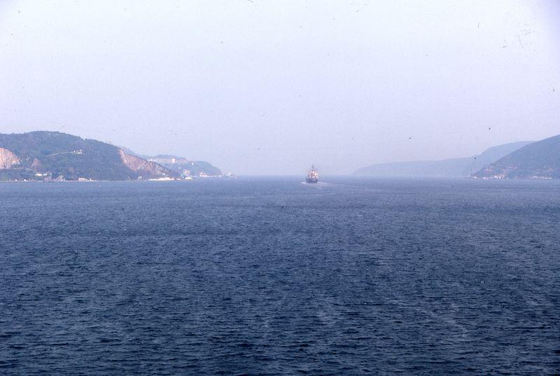 Turkey - mouth of the Bosphorus PHK 1984