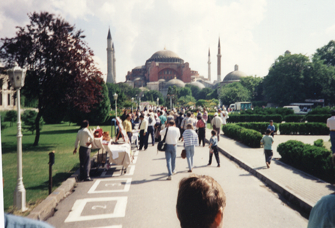 Turkey - Istanbul - Aya Sofia -June 1994 PHK cropped