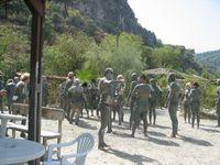 Turkey - Dalyan - Sultaniye Hot Springs & Mud Bath SW of Koycegiz Golu bathers after the bath 9-17-06