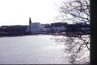Helsinki - Finlandia Talo & Historical Museum from Tooloon Lahti spring 1992