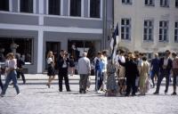 Estonia - Tallinn - Main Square Estonia Flag Demo 1990 PHK